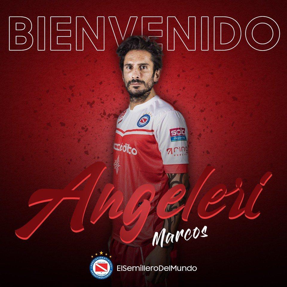 Angeleri, Nacional, Argentinos, Superliga, Fútbol